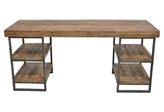 Morella Desk on OneKingsLane.com, $1,1999 (I like it, but then again, there's always this one...http://pinterest.com/pin/204491639301195357/)