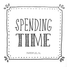 Holiday; spending time with the ones you love!! Have fun! #lettering #paperfuel