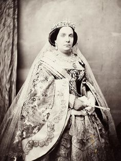 Isabella II (Spanish: Isabel II; 10 October 1830 – 10 April 1904) was queen regnant of Spain from 1843 until 1868. She came to the throne as an infant, but her succession was disputed by the Carlists, who refused to recognise a female sovereign, leading to the Carlist Wars. After a troubled reign, she was deposed in the Glorious Revolution of 1868, and formally abdicated in 1870. Her son Alfonso XII became king in 1874.