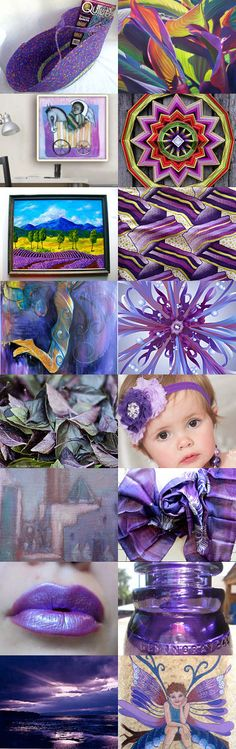 Purple Explosion by Anna Margaritou on Etsy--   #etsy #treasury #purple #violet #picnic #basket #moses #basket  Pinned with TreasuryPin.com