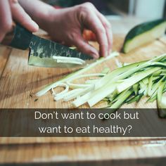 Want to eat #healthy but #cook less? Check out these tips! #ad #sponsored #FitKitchen #planahead