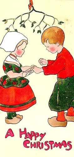 I remember ornaments and photos Mamma had in her Christmas decorations that were prints from Holland.