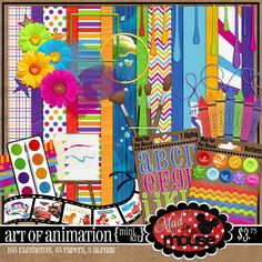 Animation digiscrap kit by Mad for the Mouse Designs