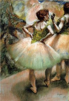 Dancers, Pink and Green - Edgar Degas