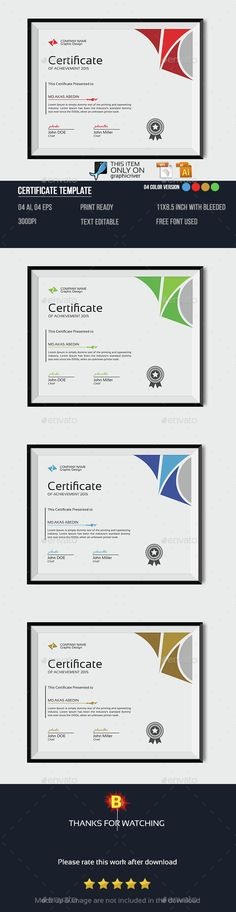 Fashion Certificate  Certificate Template And Certificate Design