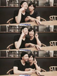 Rap monster and his mom❤️ so cute