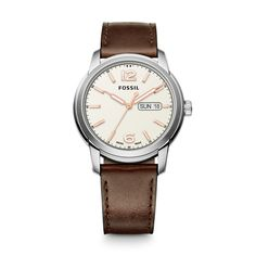 FSW4004 - Swiss FS-5 Series Quartz Three-Hand Date Leather Watch - Black 73c64dfb066be