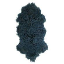 IB Laursen Tibetan Lamsvacht 50 x 90 cm - Donkerblauw