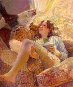 """А уж насколько я люблю солнце ранней весной - нет подходящих слов ни в одном из человеческих языков, чтобы описать мою страсть к этому светилу.  Макс Фрай """"Сказки старого Вильнюса"""""""