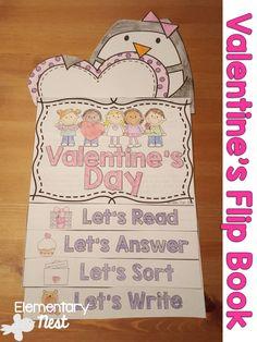 valentine's day flip book ideas