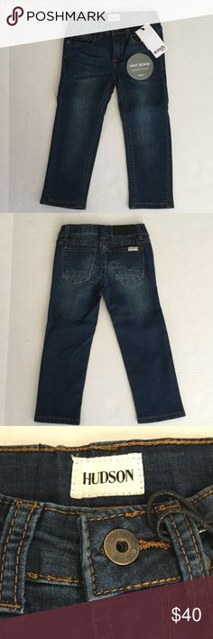 Hudson Kids Jeans Hudson Kids Straight Stretch Jeans - These are adorable and soft for your mini me. Bottoms Jeans