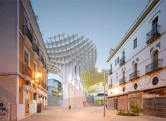 Architizer Blog » Change Your City: Top 10 Urban Transformation Projects    Metropol Parasol, Sevilla/Spain  Designed by J. MAYER H. Architects