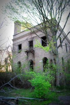Abandoned TB hospital WV by cathy