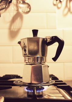 yummy #coffee from a Bialetti Moka Pot #tw