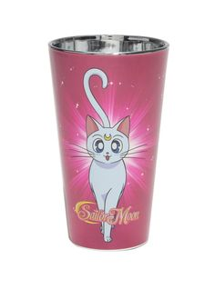 New official Artemis and Luna Sailor Moon cup! Buy here https://www.amazon.com/Sailor-Moon-Luna-Artemis-Glass/dp/B01M07853O/ref=as_li_ss_tl?ie=UTF8&qid=1482731148&sr=8-1&keywords=sailor+moon+hot+topic&linkCode=ll1&tag=mypintrest-20&linkId=39fc9f8fb7103531e893998d6abe88c3