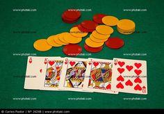 Poker, escalera de color