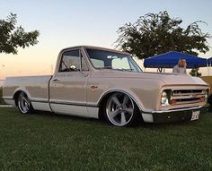 Amazing C10 Chevy C10, 67 72 Chevy Truck, Chevy Pickups, Chevrolet Trucks, Lowered Trucks, C10 Trucks, Old Pickup Trucks, Jeep Cars, Vintage Trucks
