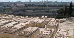 Thousands of Jewish graves lay on the Mount of Olives beside Jerusalem.
