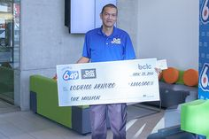 BC's first Lotto 6/49 Guaranteed $1 Million Prize Draw winner! Prize Draw, Winning The Lottery, How To Find Out, Shit Happens, How To Plan