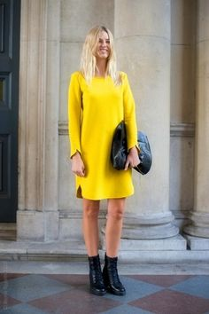 7 Summer-Perfect Yellow Looks via @WhoWhatWear