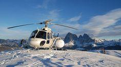 Heliskiing im Skiurlaub in Südtirol