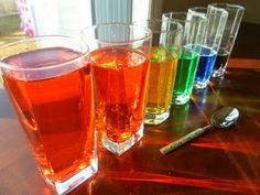 Homemade Rainbow Xylophone!
