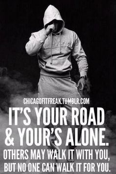 It's your road!