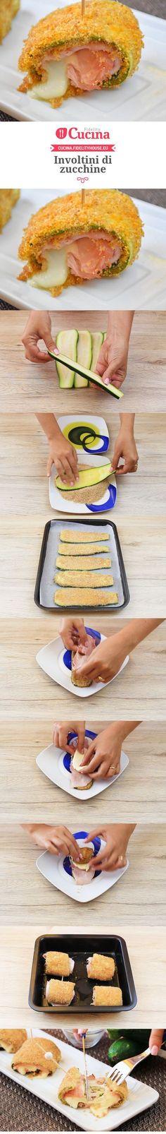 Involtini di #zucchine