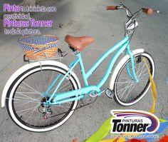 #Bicicletas con estilo. Puedes utilizar nuestros productos de la industria automotriz para repintarla.