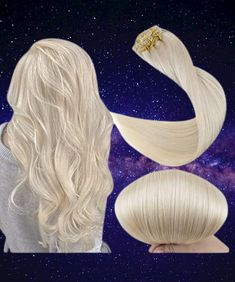 Fshine Blonde Hair Extensions Clip in Human Hair for Short 10 Inch 80 Gram Thick Real Hair Extensions Individual 7 Pieces Remy Clip on Double Weft Smooth Straight #hair #goldhair #haircolor #humanhair #hairexpensionsclip Gold Blonde Hair, Platinum Blonde, Gold Hair, Blonde Hair Extensions Clip In, Clip In Hair Extensions, Human Hair Clip Ins, Remy Hair, Straight Hair, Hair Piece