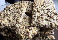 SANSkeuken—#veganbreakfast #veganontbijt  Homemade knäckebröd