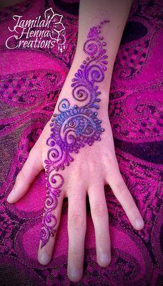 Balloon Fest Henna www.JamilahHennaCreations.com