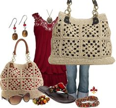 Caribbean Beat Tote - crochet straw bag - Olivia + Joy #outfits