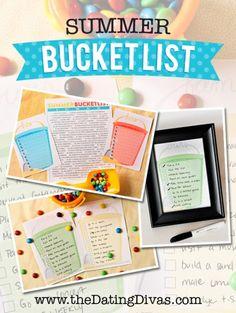 Paige - Summer Bucket List - Pinterest