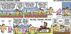 Pearls Before Swine - this is hilarious, even though there are no crocs :)