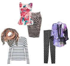 The best way to express  your inner boho is to mix prints together in the same outfit.