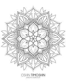 Ideas For Tattoo Mandala Dotwork Drawings Geometric Mandala Tattoo, Mandala Tattoo Design, Mandala Dots, Mandala Drawing, Mandala Painting, Mandala Pattern, Dot Painting, Tattoo Designs, Designs Mehndi