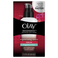 Amazon.com: Olay Regenerist Advanced Anti-Aging Regenerating Serum Moisturizer Fragrance-Free 1.7oz: Beauty