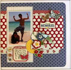 Layout: FRESH MEMORIES by Luzma, Fun with colors