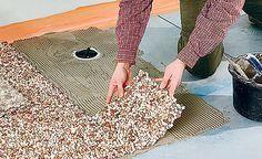 bodengleiche dusche einbauen linienentw sserung hornbach meisterschmiede 3 pinterest. Black Bedroom Furniture Sets. Home Design Ideas