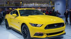 The 2015 Ford Mustang is not so mellow in yellow