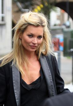 Model Sighting: Kate Moss Leaves a Photo Shoot in London | The Front Row View