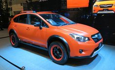 ...  as a reminder, Subaru rolled out customized variants of its XV and Forester models, sporting matte paint jobs, styling accessories, and new wheels. Description from subaruxvforum.com. I searched for this on bing.com/images