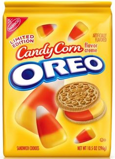 Candy Corn Oreos - Need these!