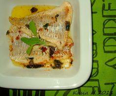 Kasia S. w kuchni...: Aromatyczna ryba smażona na maśle szałwiowym