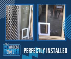 Would you like us to install a pet access door for your fur babies? 🐕🐈  All you have to do is call/ send us a message!📱 Pet Door, Western Australia, Perth, Fur Babies, Your Pet, Doors, Slab Doors, Doorway, Gate