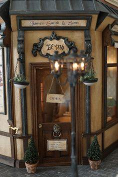 Miniature Antique store James Smith