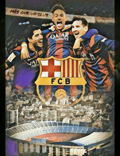 Soccer Art, Football Soccer, Fc Barcelona, Neymar Jr, Club, Lionel Messi, Football Players, Soccer Stuff, Graphics