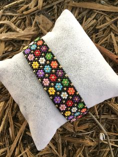 Excited to share the latest addition to my #etsy shop: Miyuki Bracelet-Colorful