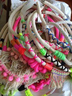 Beautiful Emeldo necklaces in stock now!